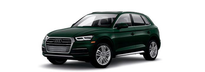 2021 Audi Q5 Azores Green metallic Colors