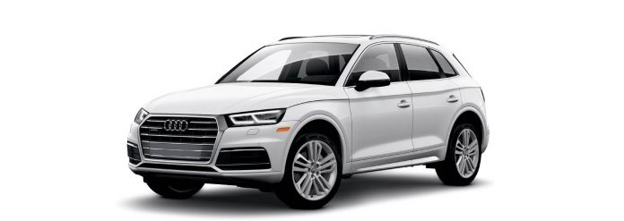 2021 Audi Q5 Glacier White metallic Colors