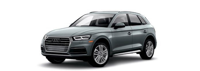 2021 Audi Q5 Monsoon Gray metallic Colors
