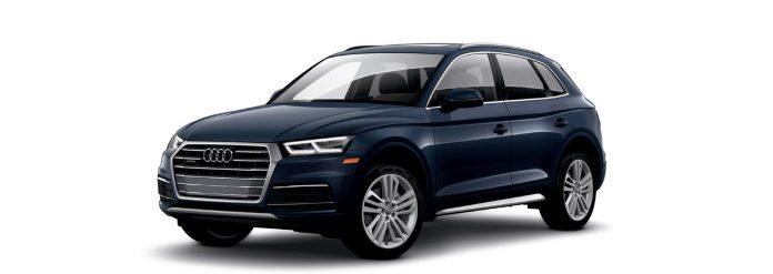 2021 Audi Q5 Moonlight Blue metallic Colors