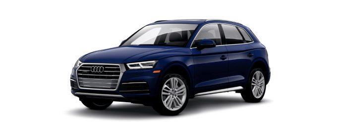 2021 Audi Q5 Navarra Blue metallic Colors