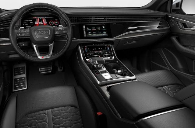 2021 Audi RS Q8 Black Interior Colors