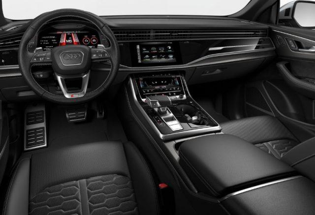 2021 Audi RS Q8 Black Rock Gray Interior Colors