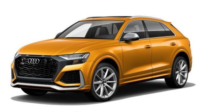 2021 Audi RS Q8 Dragon Orange Metallic Colors