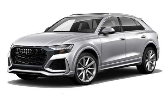 2021 Audi RS Q8 Florett Silver Metallic Colors