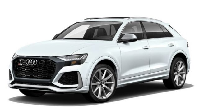 2021 Audi RS Q8 Glacier White Metallic Colors
