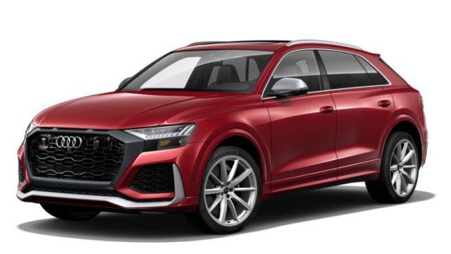 2021 Audi RS Q8 Matador Red Metallic Colors