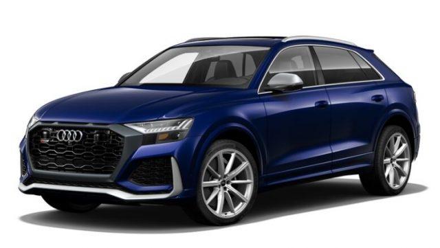 2021 Audi RS Q8 Navarra Blue Metallic Colors