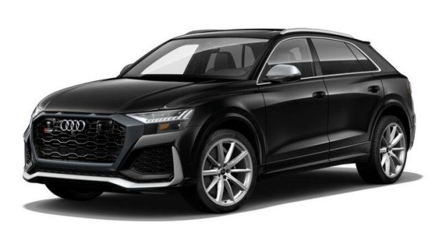 2021 Audi RS Q8 Night Black Colors