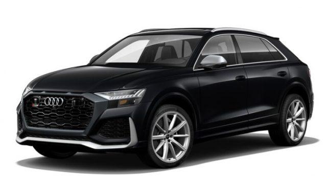 2021 Audi RS Q8 Orca Black Metallic Colors