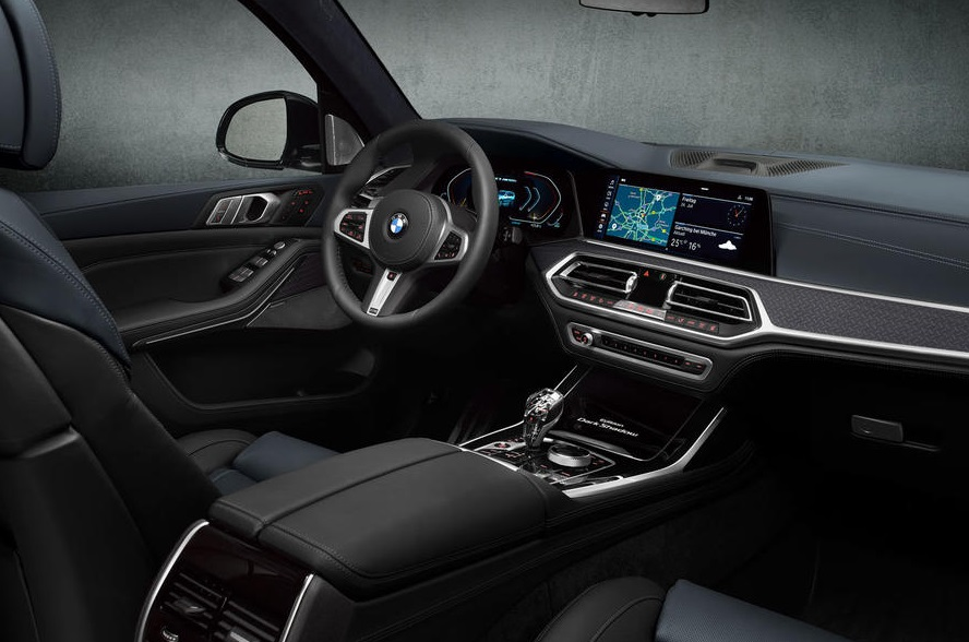 2021 BMW X7 Dark Shadow Edition Cabin Equipment