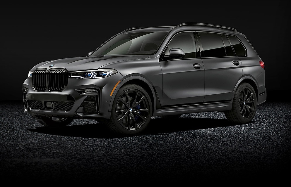 2021 BMW X7 Dark Shadow Edition Exterior Colors