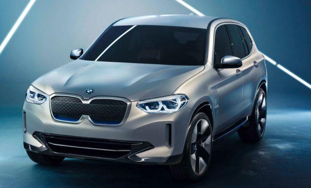 2021 BMW iX3 Electric Cars