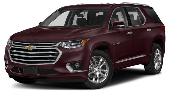 2021 Chevrolet Traverse Black Cherry Metallic Colors