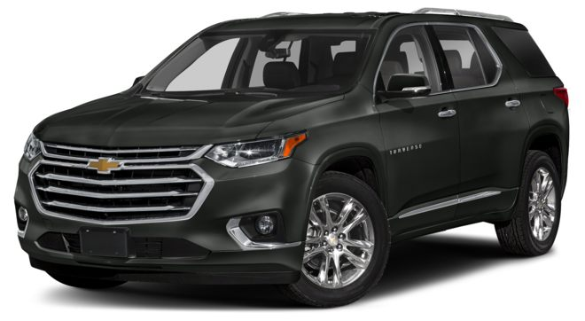 2021 Chevrolet Traverse Graphite Metallic Colors
