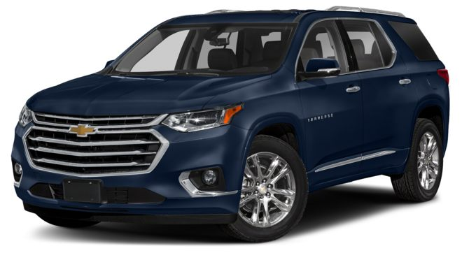 2021 Chevrolet Traverse Midnight Blue Metallic Colors