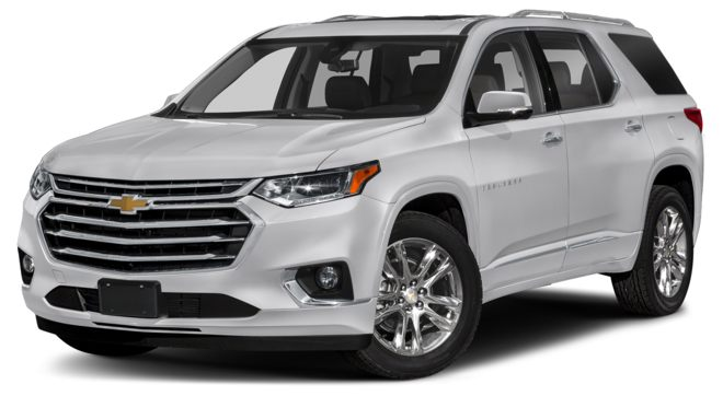 2021 Chevrolet Traverse Silver Ice Metallic Colors