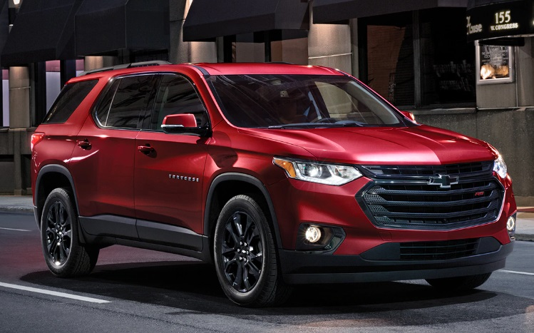 2021 Chevrolet Traverse Specs Price Exterior Interior Colors