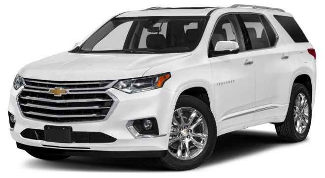 2021 Chevrolet Traverse Summit White Colors