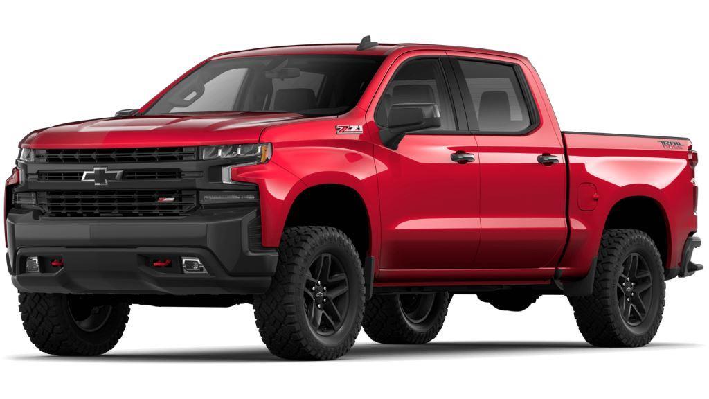 2021 Chevy Silverado1500 Cajun Red Tintcoat Colors