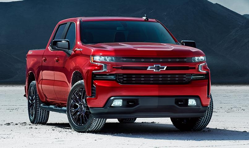 2021 Chevy Silverado1500 Color Options