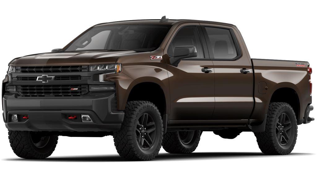 2021 Chevy Silverado1500 Havana Brown Metallic Colors