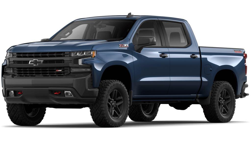 2021 Chevy Silverado1500 Northsky Blue Metallic Colors