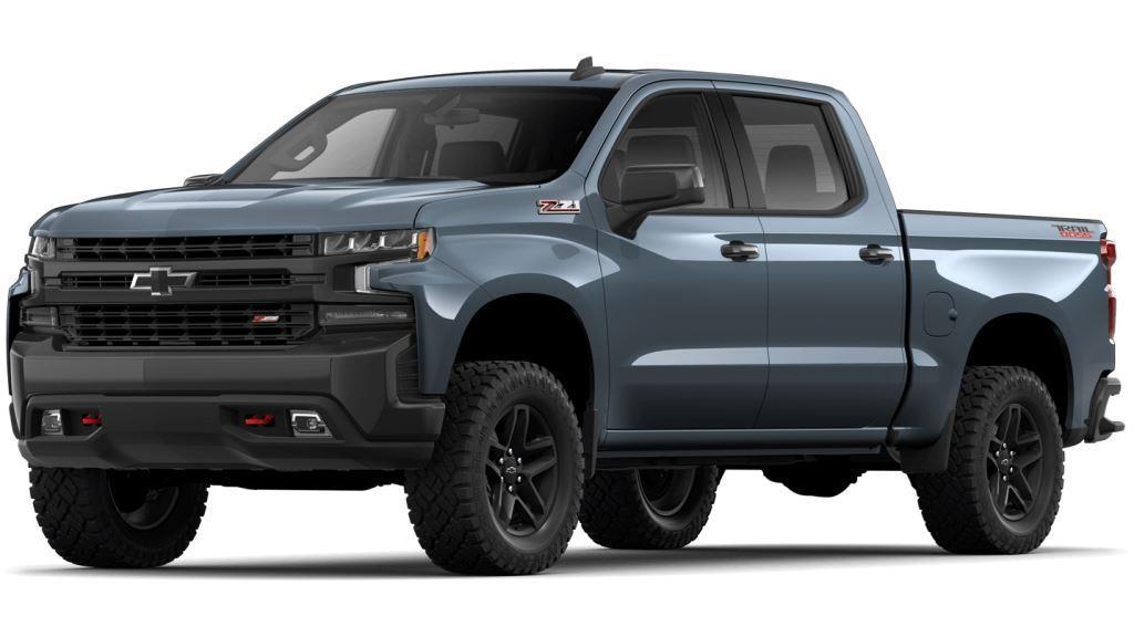 2021 Chevy Silverado1500 Shadow Gray Metallic Colors