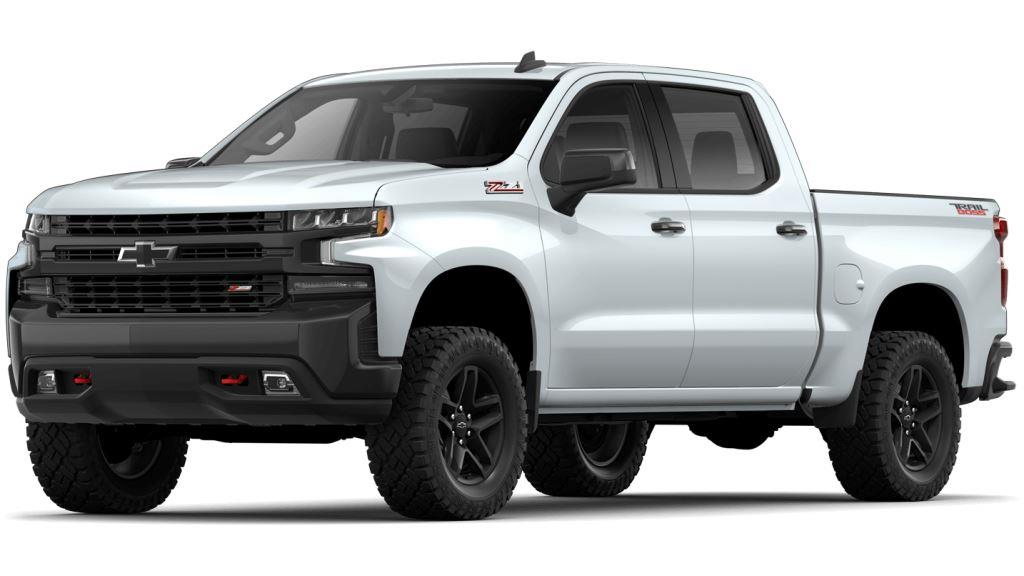 2021 Chevy Silverado1500 Summit White Colors