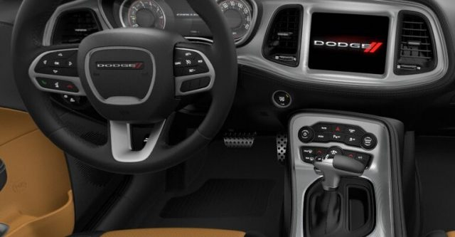 2021 Dodge Challenger Black Caramel Interior Colors
