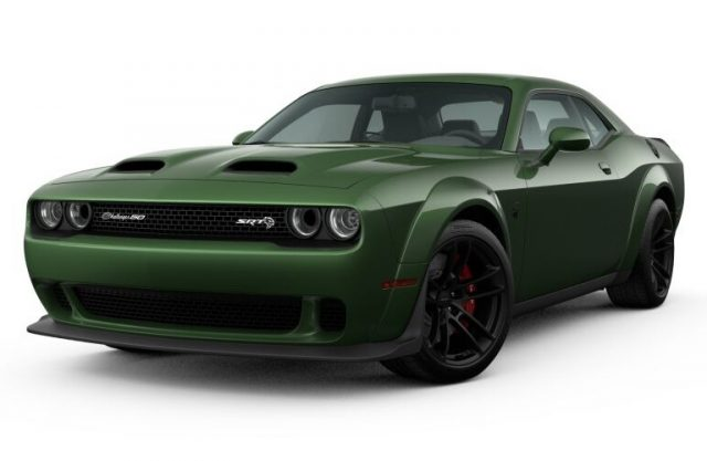 2021 Dodge Challenger F8 Green Colors