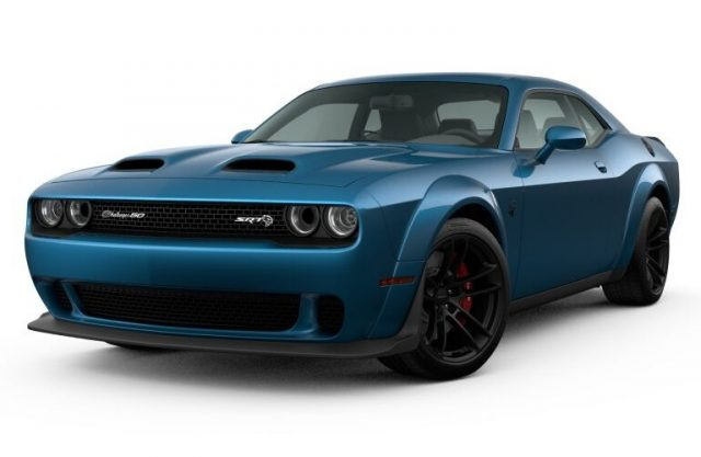 2021 Dodge Challenger Frostbite Colors