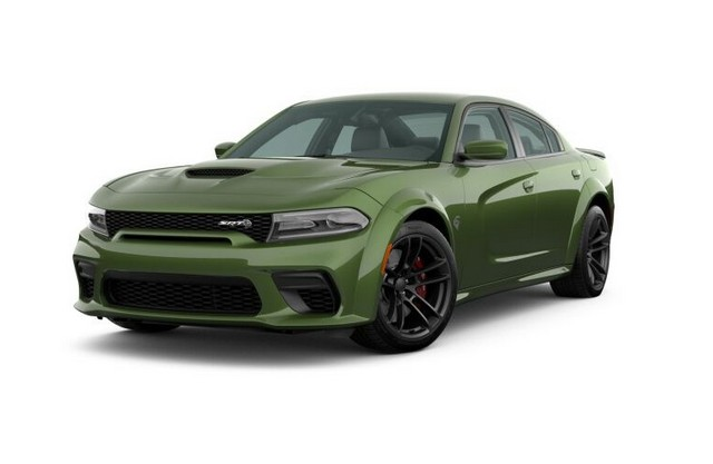 2021 Dodge Charger F8 Green Colors
