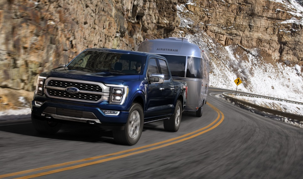 2021 Ford F-150 Towing Capacity