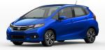 2021 Honda Fit Aegean Blue Metallic