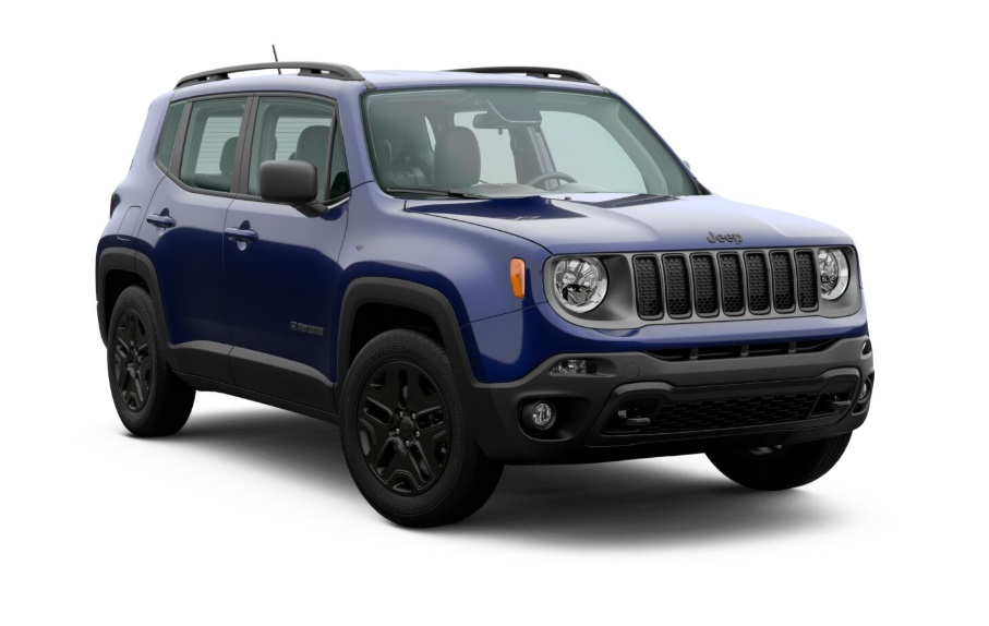 2021 Jeep Renegade Colors
