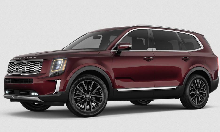 2021 kia telluride color options and best new designs