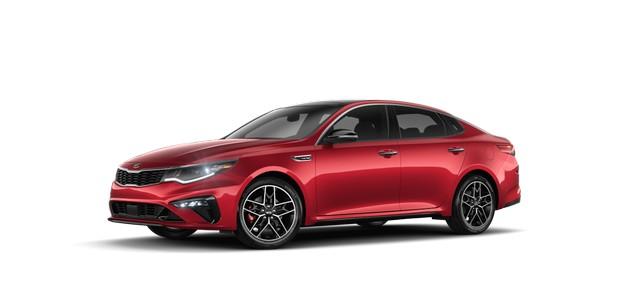 2021 Kia Optim Passion Red Colors