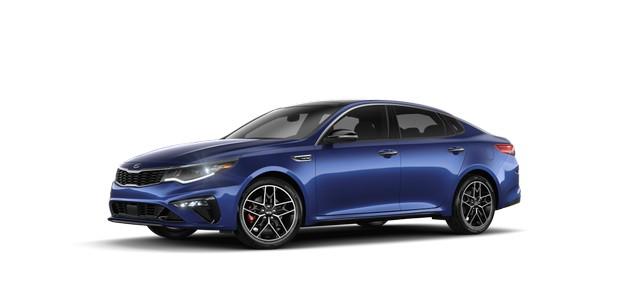2021 Kia Optima Horizon Blue Colors
