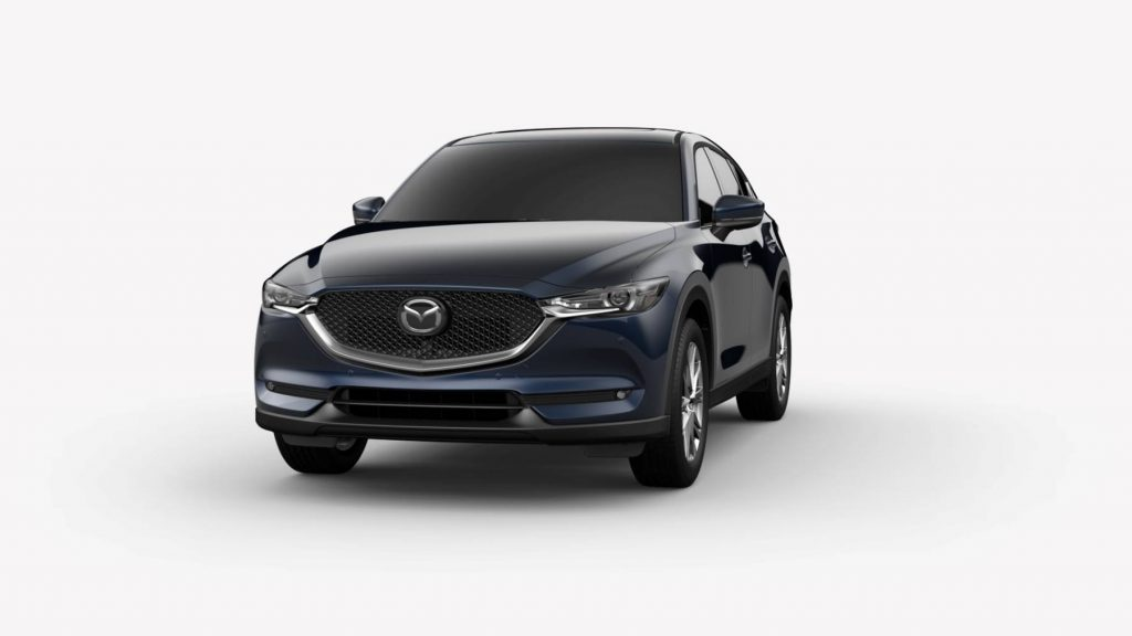 2021 Mazda CX-5 Deep Crystal Blue Mica Colors