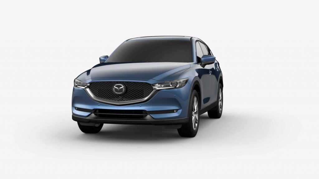 2021 Mazda CX-5 Eternal Blue Mica Colors