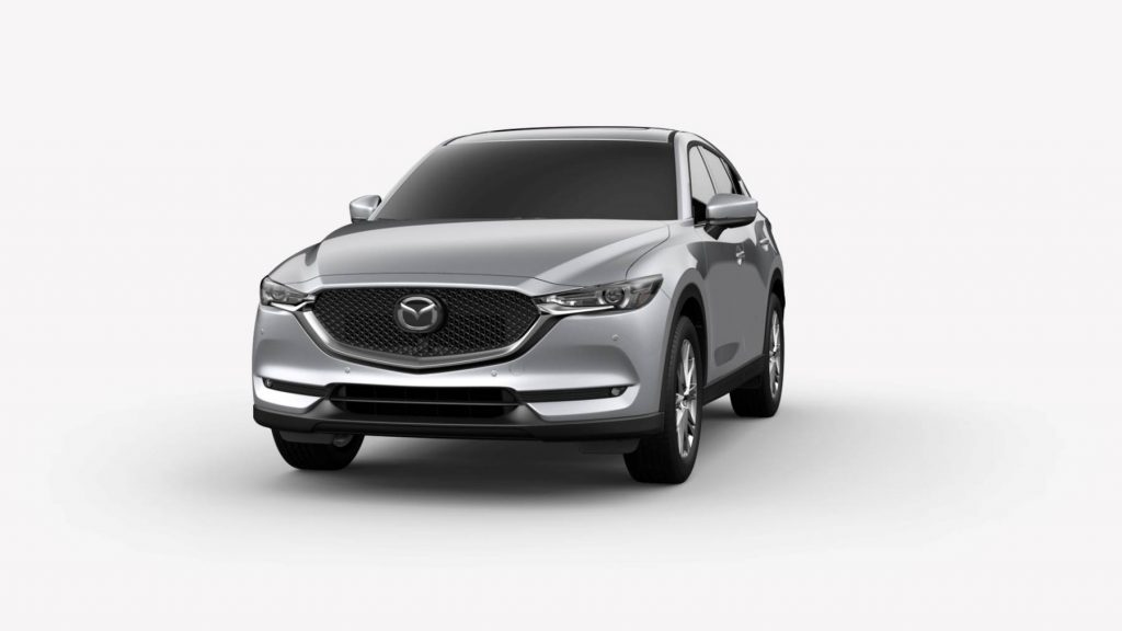 2021 Mazda CX-5 Sonic Silver Metallic Colors