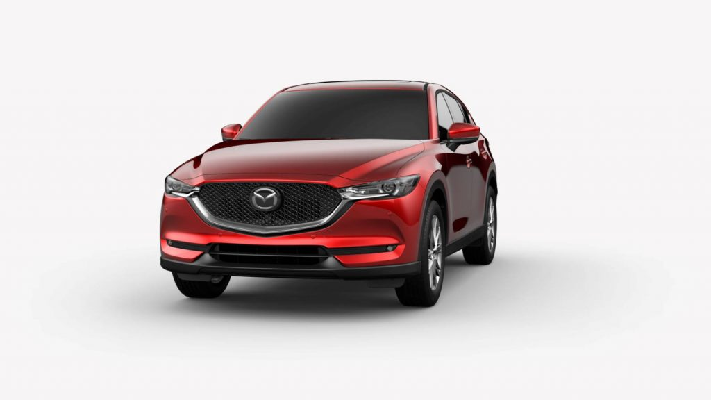 2021 Mazda CX-5 Soul Red Crystal Metallic Colors