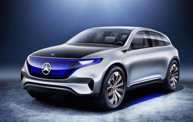 2021 Mercedes-Benz EQC Electric Cars