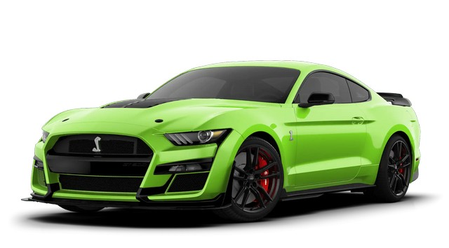 2021 Mustang GT500 Grabber Lime Colors