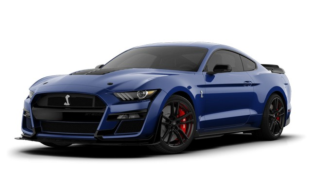 2021 Mustang GT500 Kona Blue Colors