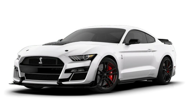 2021 Mustang GT500 Oxford White Colors