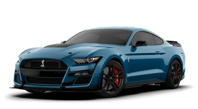 2021 Mustang GT500 Performance Blue Colors