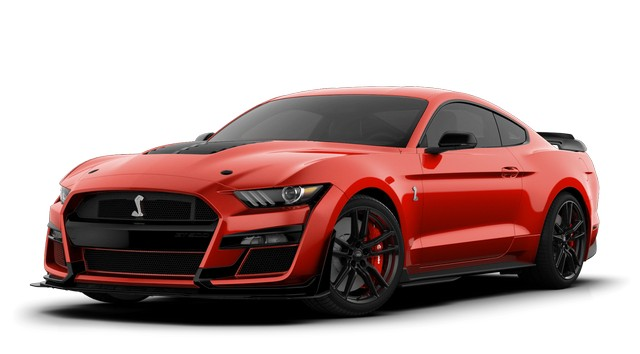 2021 Mustang GT500 Race Red Colors
