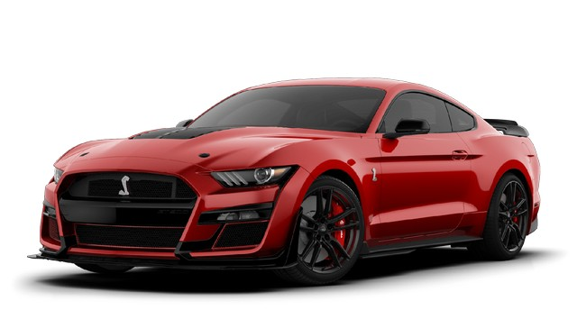2021 Mustang GT500 Rapid Red Colors